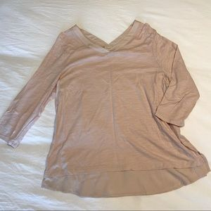 CHICO'S Baby Pink Top size 2X
